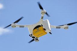 Un drone de transport tombe dans la lac de Zurich.
