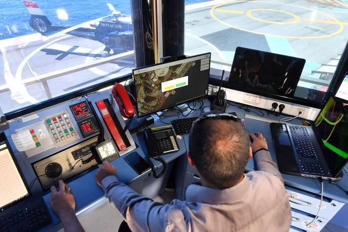 A Monaco, des contrôleurs aériens pour les drones