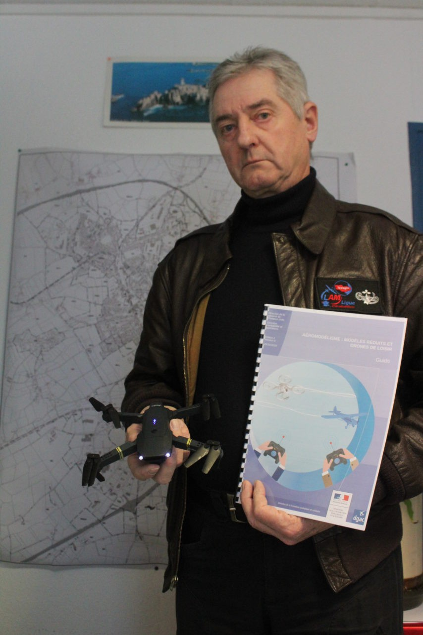 Drones : le « rappel à la loi » du président de la Ligue d'aéromodélisme de Loudéac