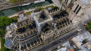 Incendie à Notre-Dame Les incroyables photos à 360° prises par un drone de la cathédrale ravagée par les flammes