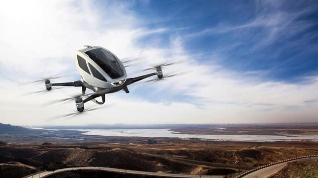 Ehang choisit Lyon comme centre de R&D de ses drones.