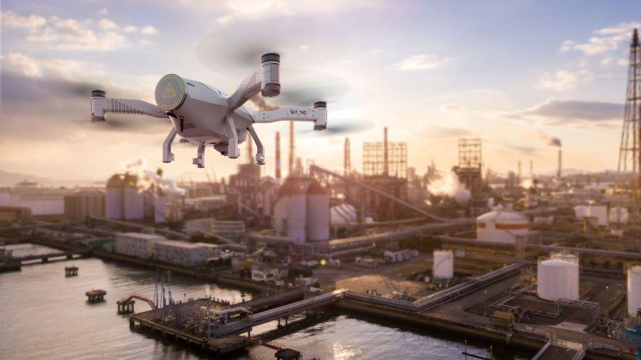 Le système de vol autonome de drones Skeyetech homologué en France